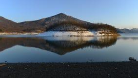 Отражение на озере Стоковая Фотография RF