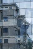 Отражение на окнах Стоковое фото RF