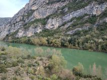 Отражение на реке стоковое изображение rf