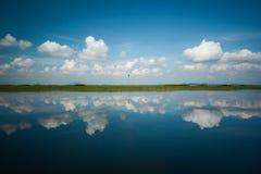 Отражение неба Стоковая Фотография