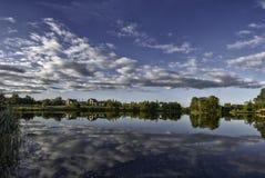 Отражение неба Стоковое фото RF