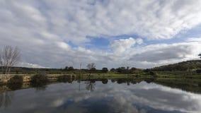 Отражение неба Стоковая Фотография RF