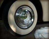 отражение невесты Стоковое Фото