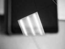 Отражение дневного источника света в лоснистой поверхности Стоковое Фото