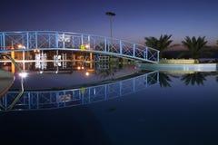 отражение ночи Стоковые Изображения RF