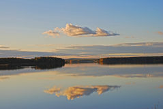 отражение озера все еще Стоковое Фото
