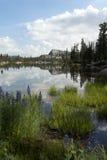 Отражение озера гор Стоковая Фотография RF