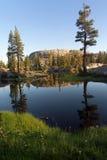 Отражение озера гор Стоковые Фотографии RF