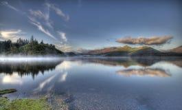 отражение озера заречья Стоковые Изображения RF