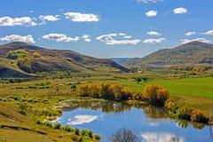 Отражение озера облако Стоковое фото RF
