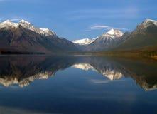 отражение озера панорамное Стоковые Фотографии RF