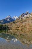 Отражение озера строк Стоковые Фотографии RF