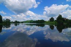 отражение озера Стоковая Фотография RF