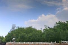 Отражение озера yuandang Стоковые Изображения