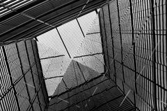 Отражение около здание муниципалитета, Лондон Стоковое фото RF
