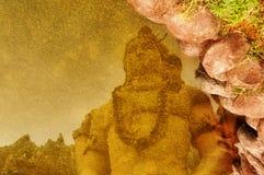 Отражение лорда Shiva Стоковые Изображения