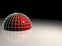 отражение полусферы Стоковая Фотография