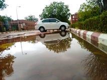 Отражение после дождя Стоковое Изображение RF