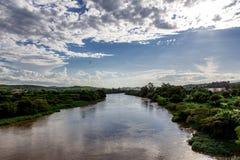 Отражение реки Стоковые Фотографии RF