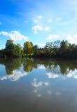 Отражение сельской местности стоковое фото rf