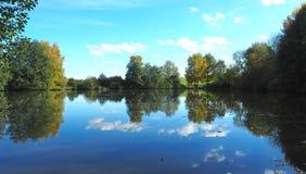 Отражение сельской местности Стоковое Фото