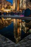 Отражение собора Стоковое Изображение RF