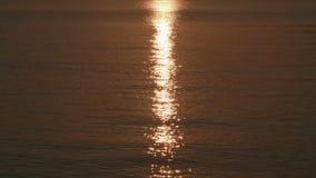 отражение Солнця воды 6K видеоматериал
