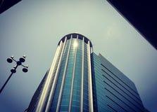 отражение солнечности на здании Стоковые Изображения RF