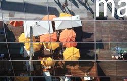 отражение стекла потолка кафа Стоковые Изображения RF