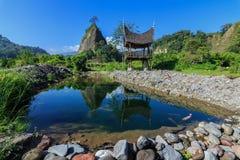 Отражение утра ` Tabiang Takuruang ` стоковое фото
