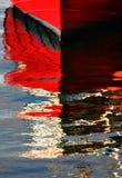 отражение шлюпки Стоковая Фотография RF