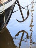 Отражение anchor_2 Стоковая Фотография