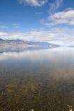 отражение badwater Стоковые Изображения RF
