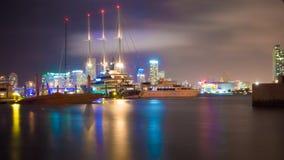 Отражение ` s Boatyard под водами для острова Уотсона Стоковые Изображения