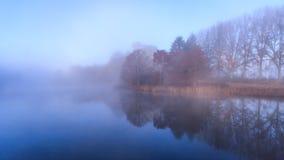 Отражения воды осени Стоковое Фото