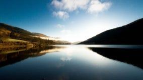 Отражения в озере Стоковые Фото