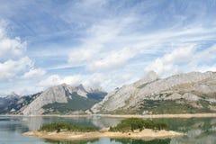 Отражения горы Стоковые Изображения