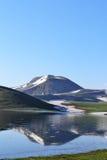 отражения гор озера Стоковая Фотография RF