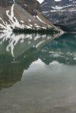 Отражения ледника яшмы Стоковые Фото