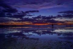 Отражения заливом Стоковые Изображения RF