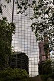 отражения здания Стоковые Изображения