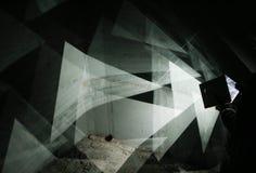 Отражения зеркала Стоковое Изображение