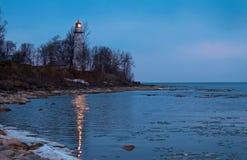 Отражения маяка Стоковые Фото