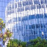 Отражения моего города стоковая фотография rf