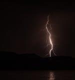 Отражения молнии Стоковые Фото