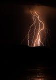 Отражения молнии Стоковые Изображения RF