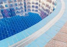 Отражения на бассейне Стоковая Фотография RF