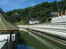 Отражения на водном пути Стоковое фото RF
