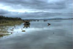 Отражения на день overcast стоковое фото rf