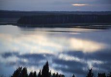 Отражения облака Стоковая Фотография RF